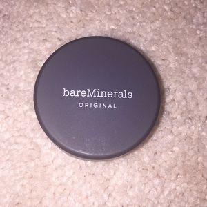 Bare minerals original foundation -fairly light